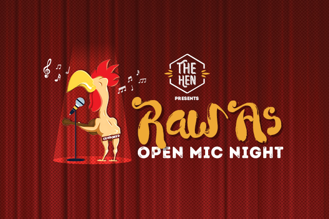 RAW AS Open Mic <br> Acoustic Music Night