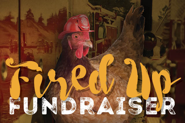 'Fired up' Fire <br> Fighters Fundraiser