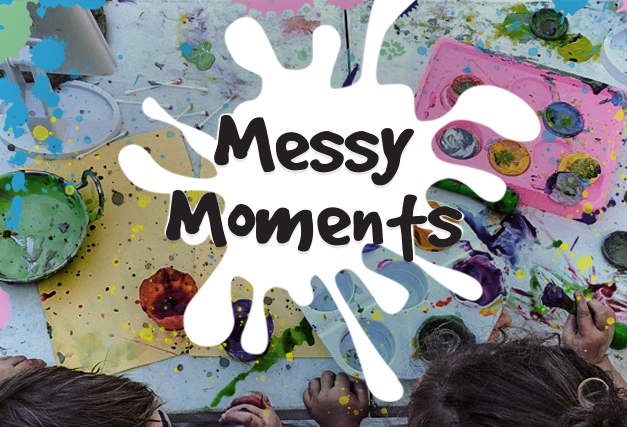 *BOOKED OUT* Messy Moments <br> at The Hen