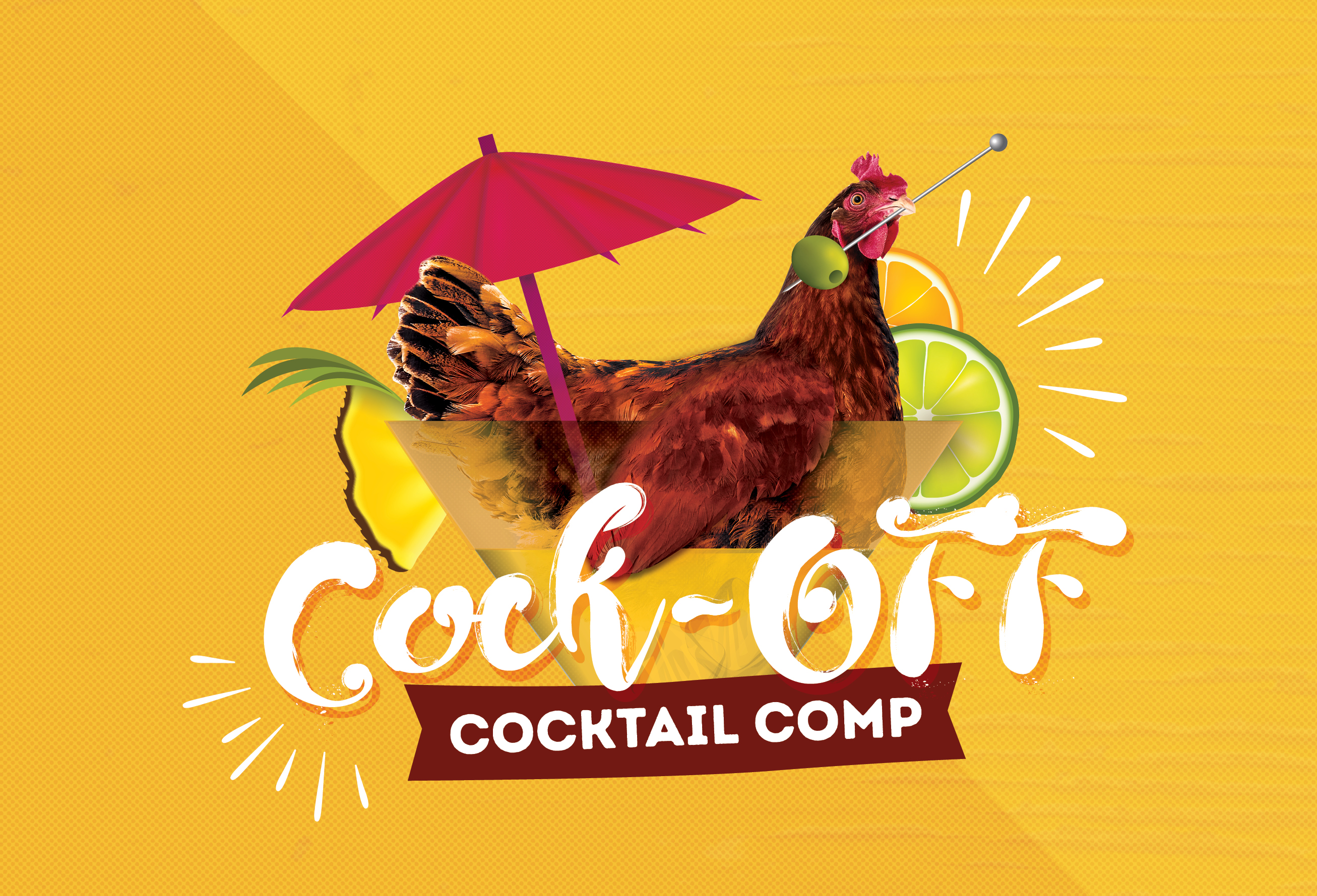 Cock-Off Cocktail Comp <br> WEEK 3: Connor