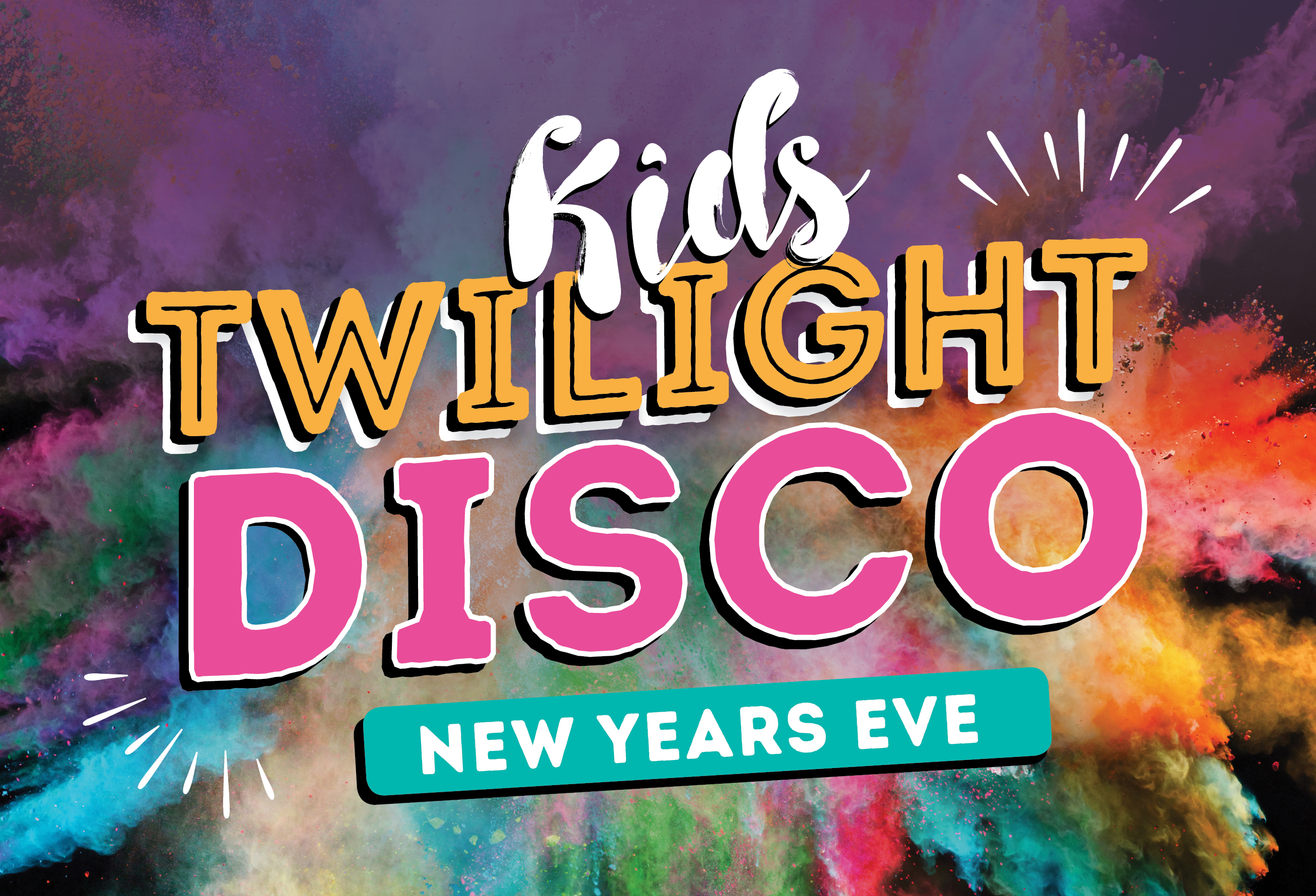 NYE Kids Twilight Disco<br>at The Hen