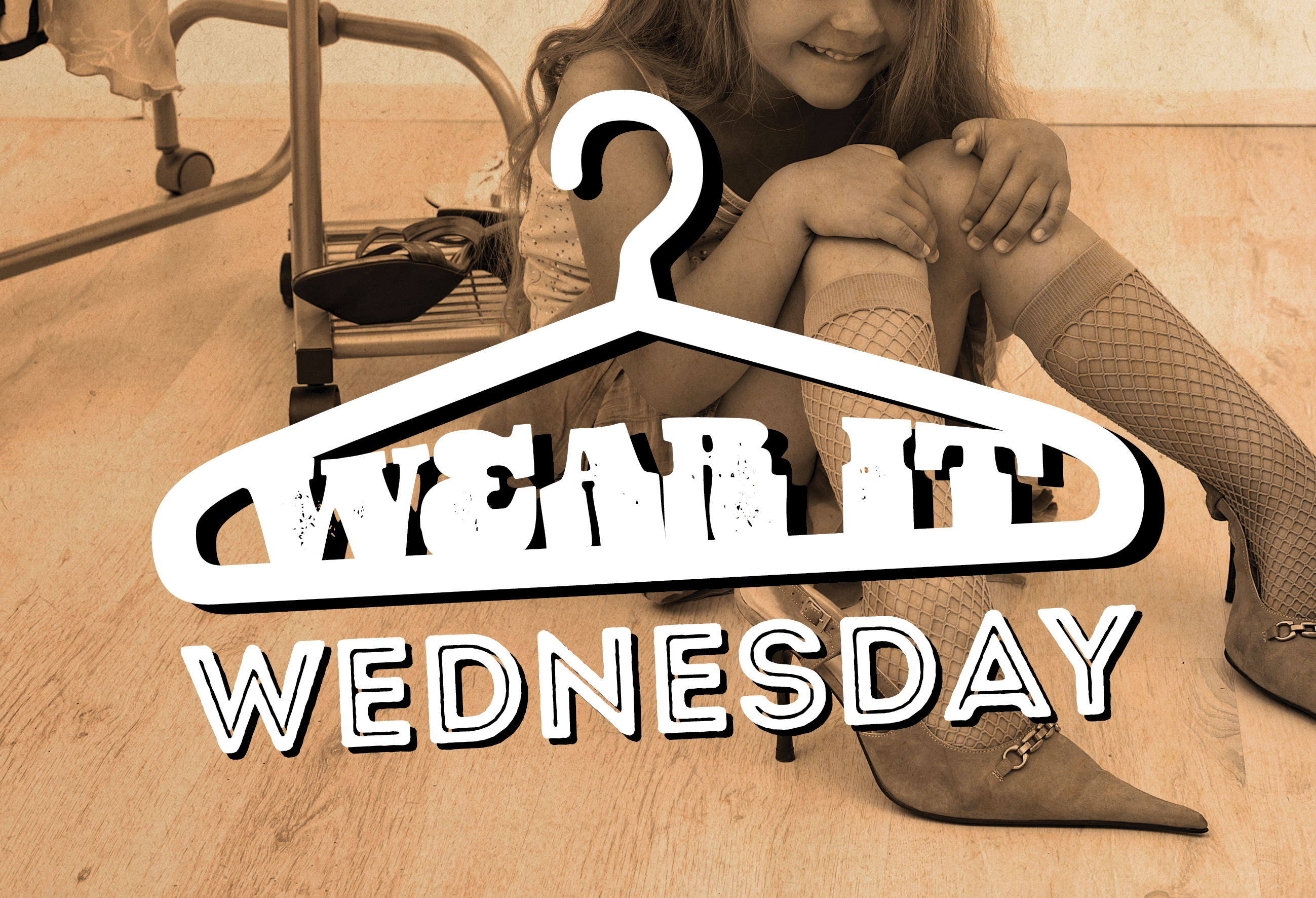 Wear it Wednesday <br>at The Hen!