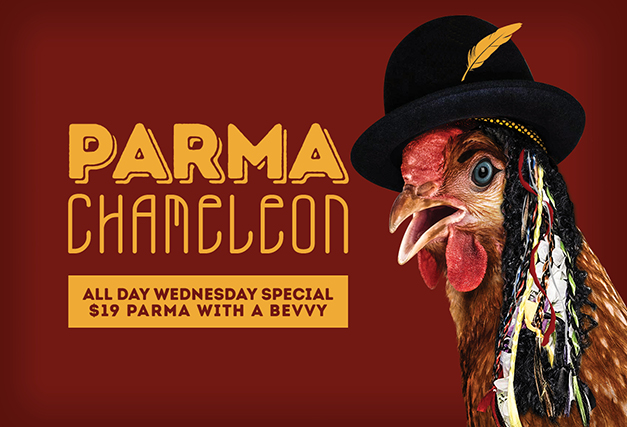 Wednesday Special <br> Parma Chameleon