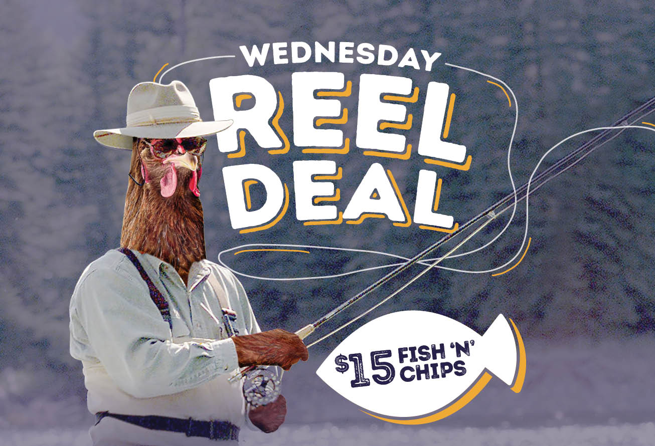 Wednesday Special <br> REEL DEAL