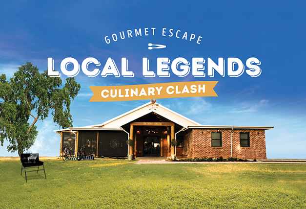 Gourmet Escape Local Legends <br> Culinary Clash BBQ Cook-Off