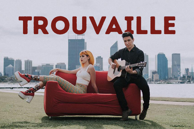 Trouvaille <br> Playing at The Hen