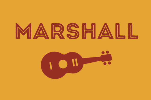 Marshall <br> Playing at The Hen